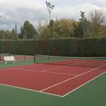 Reparación pistas de tenis
