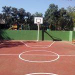 Nueva pista de Minibasket y Minifútbol