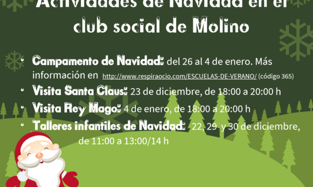 Actividades Navidad 2018